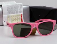 gafas de sol de protección uv venta al por mayor-AOOKO Hombres de la Venta Caliente Gris lente verde oscuro Gafas de Sol Protección UV al aire libre Mujeres gafas de sol masculino gafas de sol 50 / 54mm