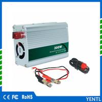 usb sockets china großhandel-Auto-Wechselrichter 12 V 220 V 300 W DC AC USB-Auto-Inverter mit Zigarettenanzünder Autokonverter hergestellt in China Inverter-Schaltplan