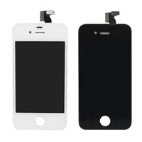 Wholesale Iphone 4s Lcd Digitizer Oem - OEM Quality No dead pixel pantalla ecran for iphone 4S lcd touch screen display digitizer assembly replacement DHL