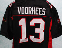 Wholesale Meaning Shorts - JASON VOORHEES - MEAN MACHINE LONGEST YARD MOVIE JERSEY FRIDAY 13th ANY SIZE