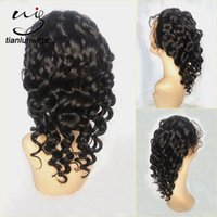 Wholesale Chinese Caps Factory - qingdao factory supply 12 inch hair for wig caps making full human hair lace wigs for bald women