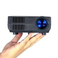 mini proyectores para ipad al por mayor-Al por mayor-VS311 Digital Mini LED Proyector Full HD Multimedia 1080p LCD para iPhone 5 6s más iPad MP3 4 Video Home Cinema TV PC