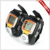Wholesale Pair Watch Walkie Talkie - football referee communications RD-008B Watch Walkie Talkie Freetalking Walkie Talkie 2-Way Radio Digital Wrist Watch 2pcs pair