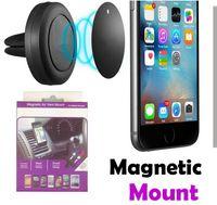 lufttelefon eins großhandel-2017 NEUE Autohalterung, Air Vent Magnetic Universal Autohalterung für iPhone 7 / 7S, One Step Montage, Verstärkter Magnet