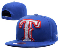 Wholesale Wholesale Texas Hats - Wholesales Texas Rangers Baseball Cap Embroidered Team logo Fitted Cap Sport Fit Hats Colorfull Free Shipping