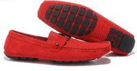 Wholesale Boat Careers - Autumn Men's Casual Shoes Moccasins Leather Suede i Men Loafers Summer Luxury Brand Fashion Male Boat Shoes Size:40-46