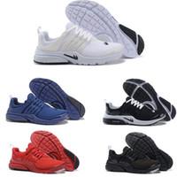 Wholesale Socks Designs Shoes - Air Presto Running Shoes 2017 Wholesale New Design Mesh Sport Running Shoes Boost White Black Red Blue GPX Air Presto Ultra Sock Dart