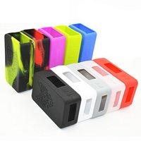 Wholesale D3 Case - Snowwolf mini 75w silicone case VS X Cube II 160W  Wismec Reuleaux RX200 Sigelei mini book 40w cover  IPV D3  Nebox case