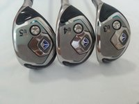 Wholesale Golf Clubs Rescue - TOP quality golf clubs mp800 golf hybrid rescue wood 3# 4# 5# golf club free shipping