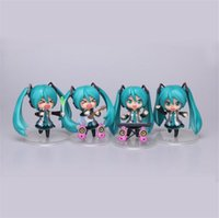 Wholesale Hatsune Doll - 10cm Cute Nendoroid Vocaloid Miku Hatsune Miku Figurine Model Collection Toys Dolls