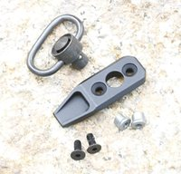Wholesale Rail Sling Swivel Mount - QD Sling Mount Swivels Fits KeyMod Rail Black