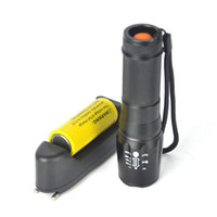 Zoom Zoomable Geführt Kaufen -5000lm Zoomable XM-L T6 LED Taschenlampe Zoom Taschenlampe + 1x26650 6800mAh + Ladegerät