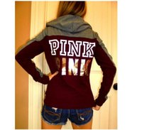 Wholesale Dropship Clothing Women - Pink Letter Bts Hoodie Women Casual Hip Hop Hoody Tops Pullover Streetwear Harajuku Tracksuit Brand Clothing Sweatshirt Dropship