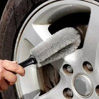 DHL Free Wholesale! Truck Car Motorcycle Bike Wheel Tire Rim Scrub Hub Cleaning Brosses de lavage Outils de lavage CCA_106