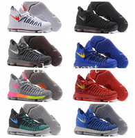 Wholesale Kevin Durant Low Tops Shoes - 2017 New Arrival Kevin KD 9 Elite Mens Basketball Shoes Top quality KD9 Durant IX BHM Mens Training Sports Sneakers Size 7-12