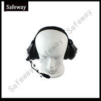 Wholesale Walkie Talkie Noise - Latest heavey duty walkie talkie noise cancelling headset for kenwood two way radio two pins