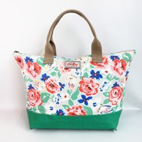 Wholesale Cross Body Bags Prints - Big size 17L Cath king women messenger bag canvas printing handbag beach bag