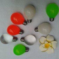 Wholesale fingertip lights - New Light Bulb Squishies Decompression Toys Halloween Tricky toys children adult Party Fingertip Bulb Toys WX-T104