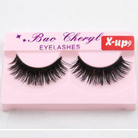 Wholesale beautiful lashes for sale - Group buy Very Beautiful black thick Eyelashes Winged fake lashes Eyelashes Individual False Eyelashes new For Lashes