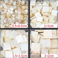 Wholesale Pearl Shell Tiles - 100g square pure white color 100% Chinese freshwater shell mother of pearl mosaic tile for interior house decoration tiles
