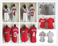 Baseball st good - Fashion St Louis Cardinals Womens Yadier Molina Matt Carpenter Jerseys Ladies Baseball Cheap Red White Blank Stitched Good