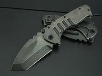 Wholesale Military Survival Knives Wholesale - Medford Praetorian Ersteindruck Tactical Folding Knife Stonewashed 5Cr13Mov 57HRC Flipper Camping Hunting Survival Pocket Knife Military EDC