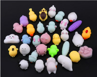 Wholesale Toy Seal Animal - Hot Sale New Squishy Toys LOT Free Shipping Mini Squeeze Animal Seals Soft