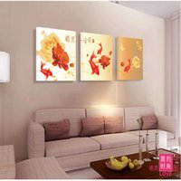 No Frame Landscape 3 painéis Canvas Painting On The Wall Arte decorativa Picture Living Bedroom Pictures