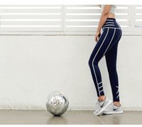 Wholesale Sexy Women S Sports Jerseys - Top Selling Women Sports Panelled Leggings Lady Zip Pocket Yoga Pants Outdoor Running Leggings Sexy Slim Sportswear Yoga Long Pants