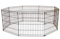 Wholesale cage crate - 30 Inch Tall Dog Playpen Crate Fence Pet Play Pen Exercise Cage 8 Panel