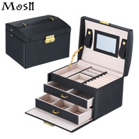 Wholesale professional makeup bags cases for sale - Group buy Travel Makeup Organizer Bag Case Cosmetic Jewelry Organizer Box Toiletry Make Up Gift Box Professional Jewelry Cosmetics Case