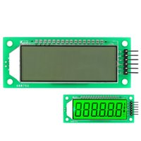 Wholesale Ivolador Arduino inch bit Segment LCD screen display module comes with green backlight