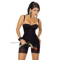 Wholesale Slimming Legs Shaper - Women tummy control Corset with zipper Building Underwear butt lifter and body shaper Shapewear Slimming Pant Legs bodysuit E18