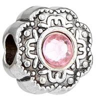 freundschaftsarmbänder halsketten großhandel-Initial Charms für Halsketten Armbänder, Perlen und Anhänger für junge Frauen oder Kinder, Freundschaft Perlen Armbänder