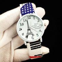 kadın beyaz kol saati toptan satış-2017 Sıcak Satış Ucuz Öğrenci Öğrenci Beyaz Towe için Bilek İzle Kol Saatleri Kadın Hakiki Deri İzle Toptan