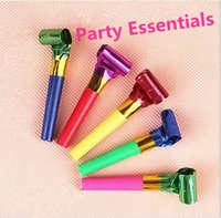 Wholesale Cheerleading Whistles - Fun riotous with colour whistle, Cheerleading   noise   birthday party a horn whistle, add festive atmosphere, happy childhood