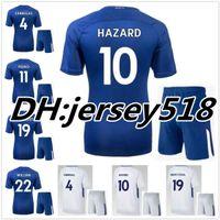Wholesale Best David - Best quality 17 18 Chelsea Soccer Jersey kits 2017 2018 Willian HAZARD Pedro DIEGO COSTA KANTE WILLIAN DAVID LUIZ Football Shirts Jerseys
