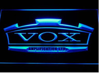 Wholesale Neon Sign Bands - VOX Amplifier Guitar Bass Band Bar Beer pub club 3d signs LED Neon Sign man cave