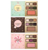 Wholesale Cookie Brands - Brand Faced LATTE COOKIE MOCHA 7 colors eyeshadow makeup palette set Christmas Suit eyeshadow palettes
