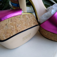 Wholesale New Style Sandals For Women - New European classic luxury style women's shoes, sandals, sandals, leather making waterproofing, and more color selection for rough heel and