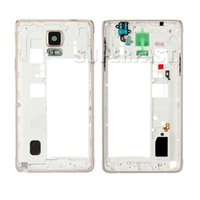 Wholesale For Samsung Note4 N910A N910V N910T N910P middle frame rear back housing with parts replacement parts