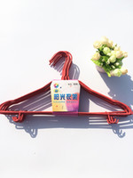 Wholesale Thick Belts Wholesale - Adult hanger thick strap hook wholesale plastic household clothes racks wet and dry clothes hanging