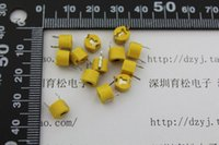 Wholesale Variable Trimmer Capacitor - Wholesale-10PCS LOT 40P adjustable capacitance trimmer variable capacitor plastic 6mm 10