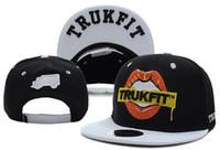 Wholesale Trukfit Feelin Spacey Hats - Hot TRUKFIT 2TR Mouse Snapback Feelin' Spacey Lil Tommy Boys Caps & Hats Snapbacks Snap Back Hat Unisex Street Cap
