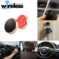 Universal Flat Stick Car Magnetic Mobile Phone Holder with opp bag para iPhone 6 7 Plus Samsung s7 s8 s8 + Mini Tablet Car Steering Dashboard