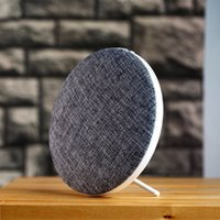 Wholesale Universal Linens - New arrive M9 bluetooth speakers outdoor sports Mini HIFI audio speakers linen appearance many colors with retail box free shipping to USA