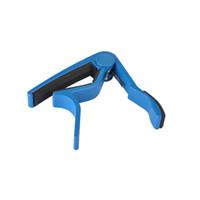 Wholesale Cheap Guitars Blue - Cheap High Quality New Aluminium Alloy Guitar Capo Guitar Accessories- Blue