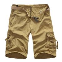 Wholesale wholesale men s work clothing for sale - Cargo Shorts Men Hot Sale Casual Camouflage Summer Brand Clothing Army Work Shorts Men Cotton Loose Color Plus Size