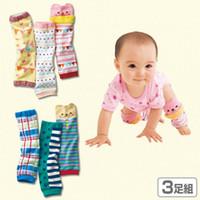 genouillères bébé mignon achat en gros de-Jambières bébé mignon de bande dessinée pour les filles genou pad enfants collants enfants chaussettes pour enfants Jambières enfants livraison gratuite en stock