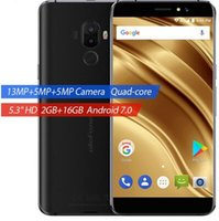 Wholesale Smartphone Android 2gb Ram - Uelfone S8 Pro Smartphone MTK6737 Quad Core 5.3Inch Cellphone 2GB RAM 16GB ROM Mobilephone Android Dual Camera 5MP+13MP Smartphone Hot Sale